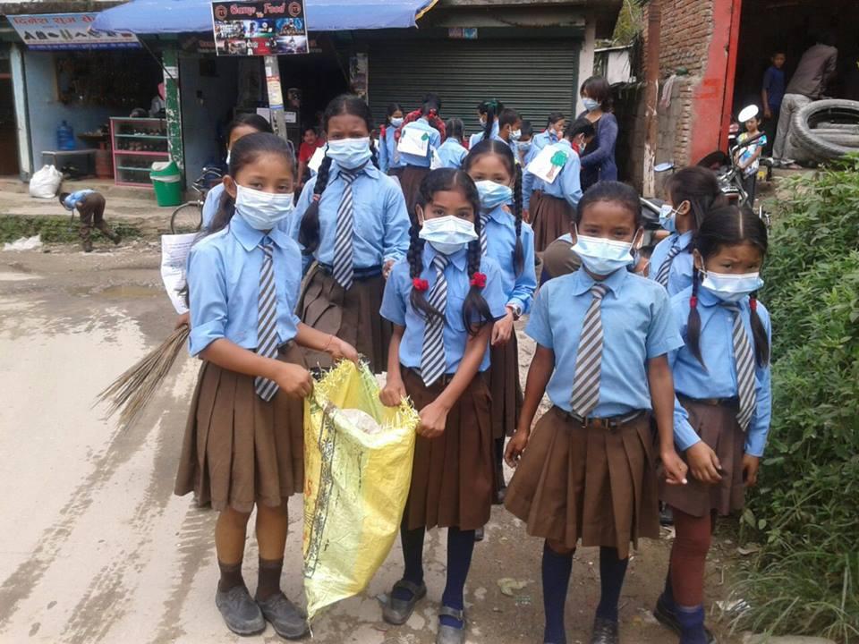 Environment clean campaign.